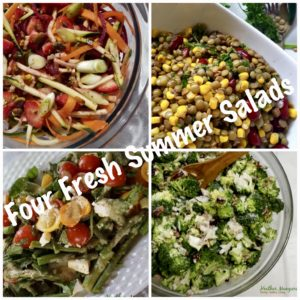 Four Fresh Ingredient Salads to Fuel Your 4th of July